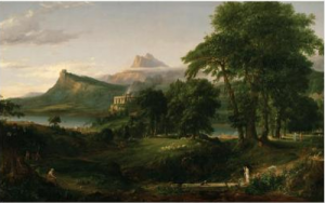 Thomas Cole's painting The Course of Empire: Pastoral State