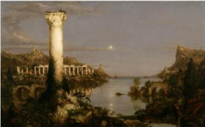 Thomas Cole's painting The Course of Empire: Desolation