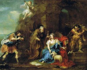 Hogarth's painting of a scene from the Tempest