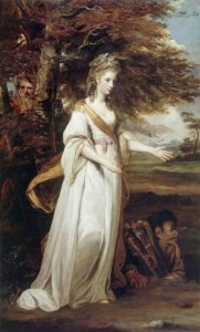 Joshua Reynolds' painting of Miranda