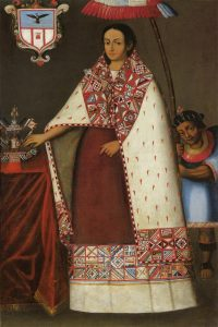 Portrait of a Ñusta, c. 1730-1750