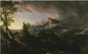Thomas Cole's painting The Course of Empire: The Savage State