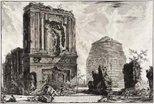 Piranesi's View of the Tomb of Piso