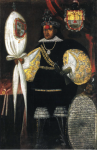 Portrait of Don Marcos Chiguan, c. 1745