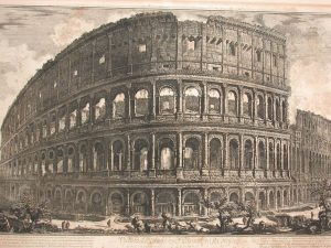 Piranesi's engraving of the Colosseum