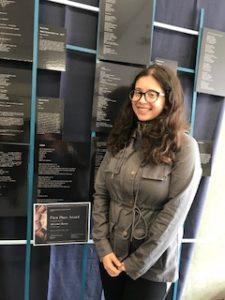 Arts Competition award-winner Adrianna Burton