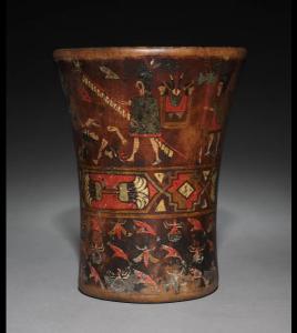 Colonial inka-style kero