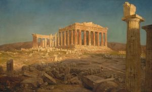 The Parthenon by Frederick Edwin Church