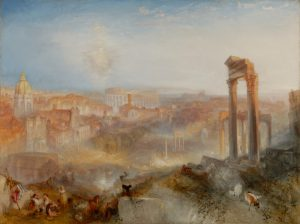 Modern Rome -- Campo Vaccino, by Turner