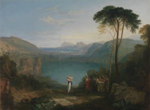 Turner's painting Lake Avernus: Aeneas and the Cumaean Sibyl