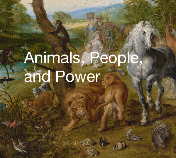 Brueghel painting detail: Animals, People, and Power