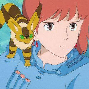 Nausicaa and her pet
